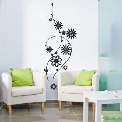 Vinilo floral para decoración