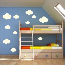 Vinilo nubes infantiles