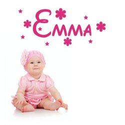 Vinilo infantil Emma