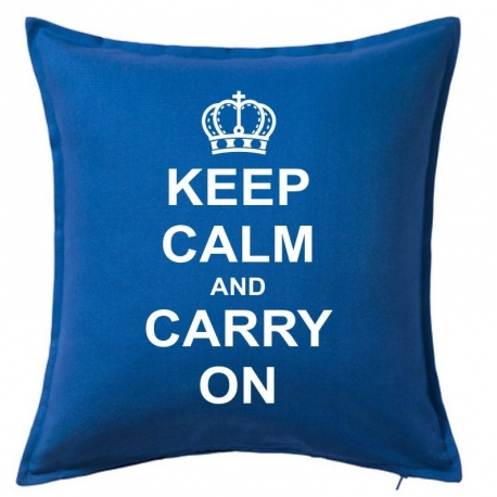 cojines originales keep the calm and carry on