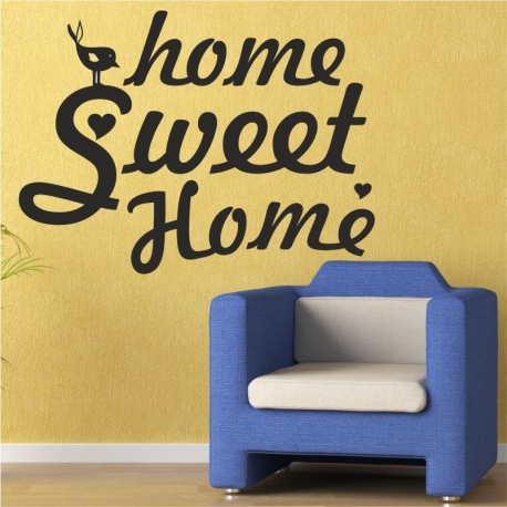 Vinilo decorativo home sheep home