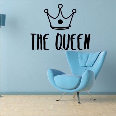 Vinilo decorativo The Queen